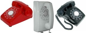 The phones I used as a teen.